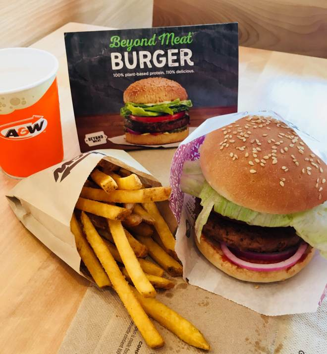 A and W burger